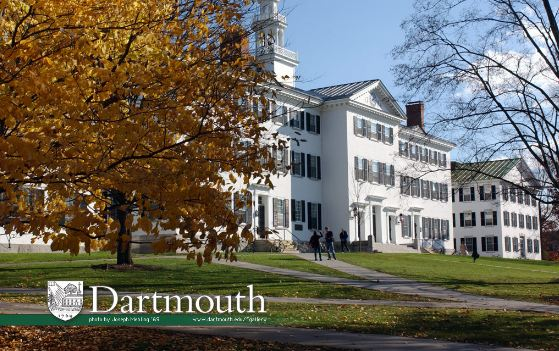 Dartmouth College Top most expensive colleges in the World 2018