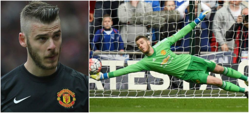 David de Gea top expensive goalkeepers in the world 2016