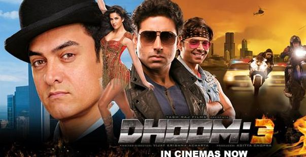 Dhoom 3, Most Expensive Indian Movies 2017