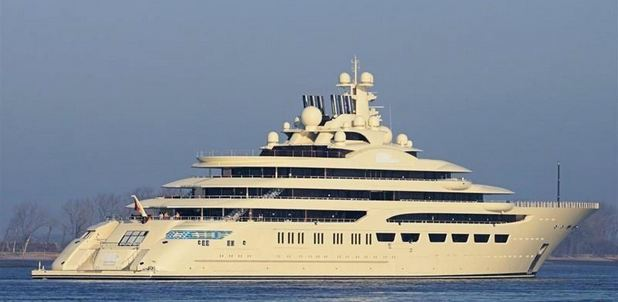 Dilbar, World's Most Expensive Yachts 2018