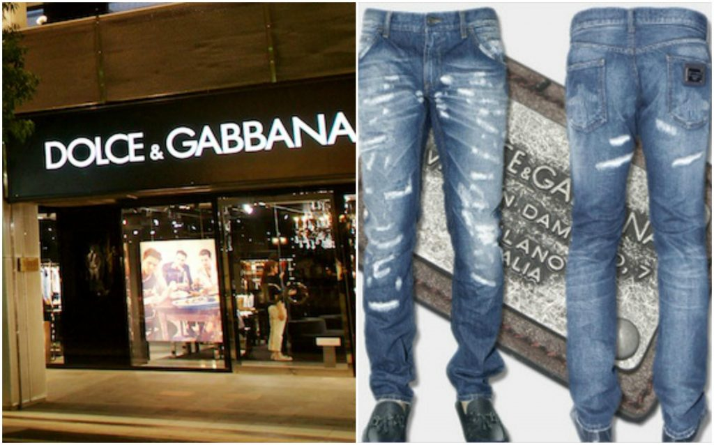 Dolce & Gabbana. Most Expensive Jeans Brand 2019