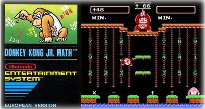 Donkey Kong Jr Math