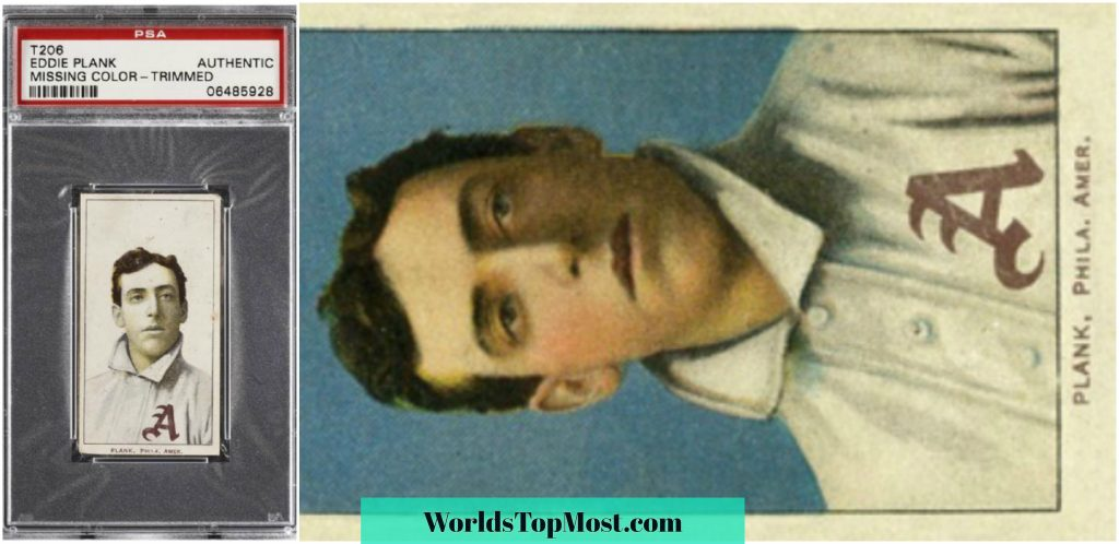 Eddie Plank most expensive baseball cards 2016