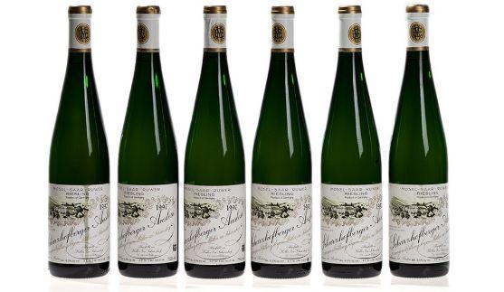 Egon Muller-Scharzhof Scharzhofberger Riesling Trockenbeerenauslese, World's Most Expensive Wine Brands 2018
