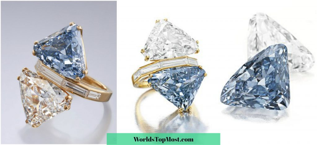 Engagement Ring Bvlgari Blue most expensive items 2016-2017