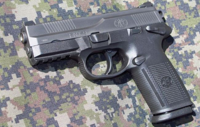 FN Herstal FNX 9, Top best selling handguns in the World 2017