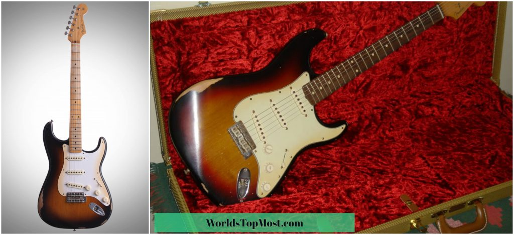 Fender ROA Stratocaster guitar most expensive items in the world 2016-2017