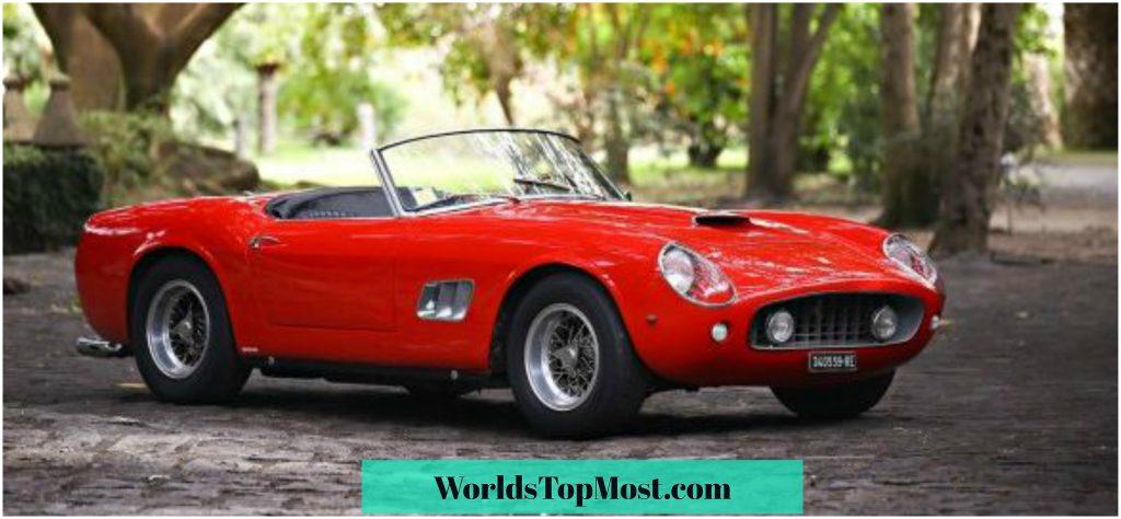 Ferrari 250 GT SWB California fastest and most expensive Ferrari cars 2016