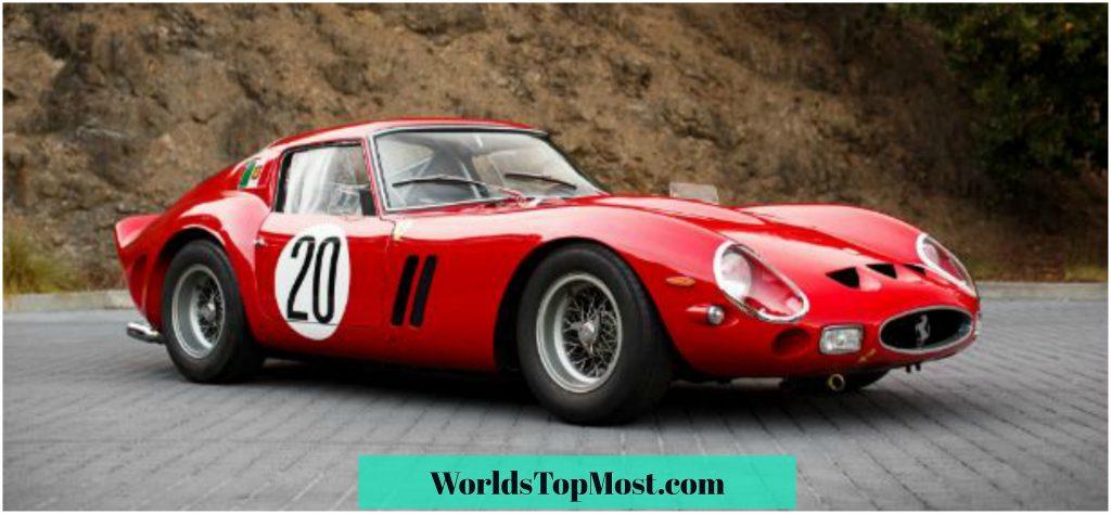 Ferrari 250 GTO top 10 most expensive Ferrari cars 2016