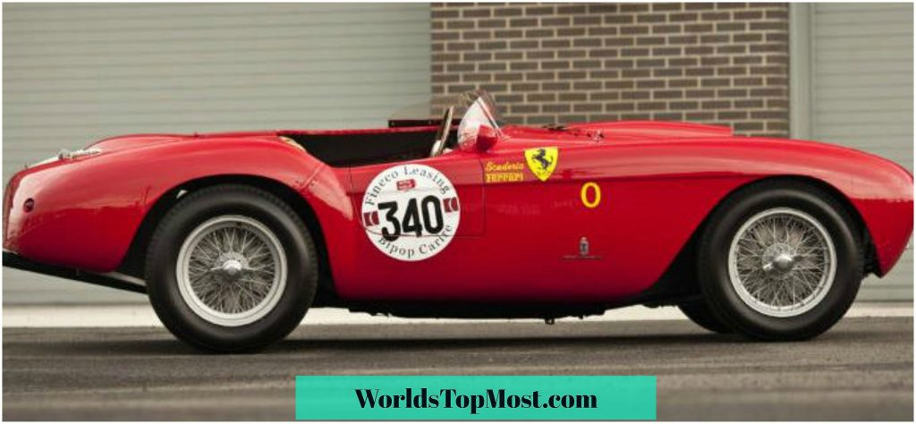 Ferrari 500 Mondial fastest and most expensive Ferrari cars 2016