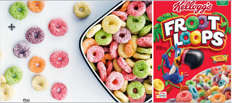 Froot Loops Bestselling Food Products 2016-2017