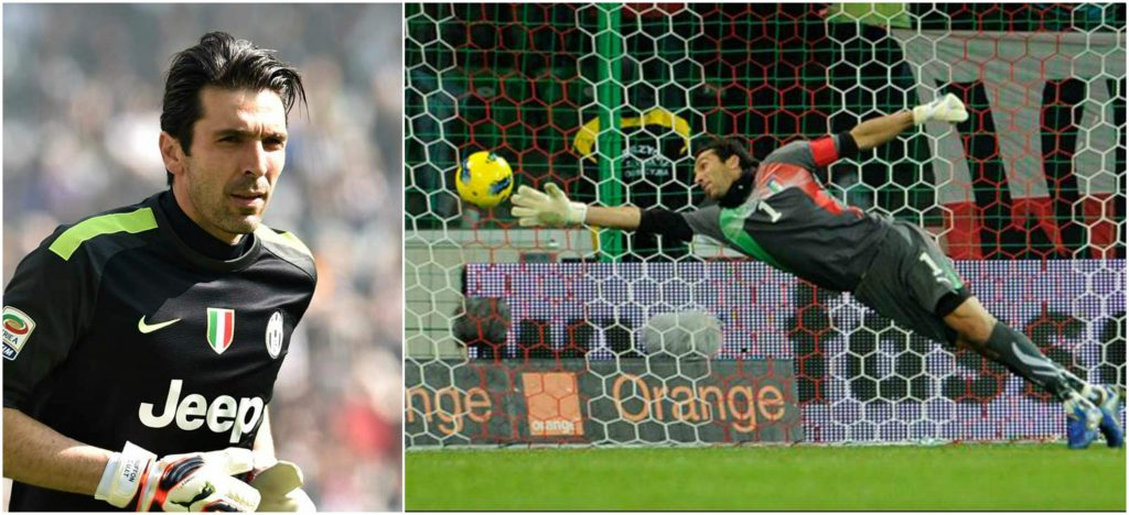 Gianluigi Buffon most popular expensive goalkeepers in the world 2016-2017