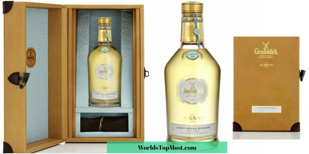 Glenfiddich Janet Sheed Roberts Reserve 1955 most expensive items 2016-2017