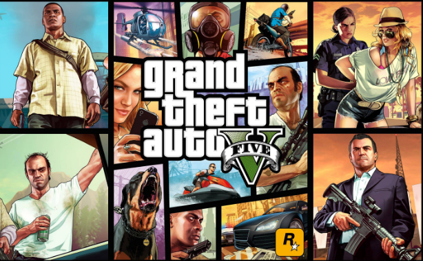 Grand Theft Auto 5 best selling hot pc games 2016-2017