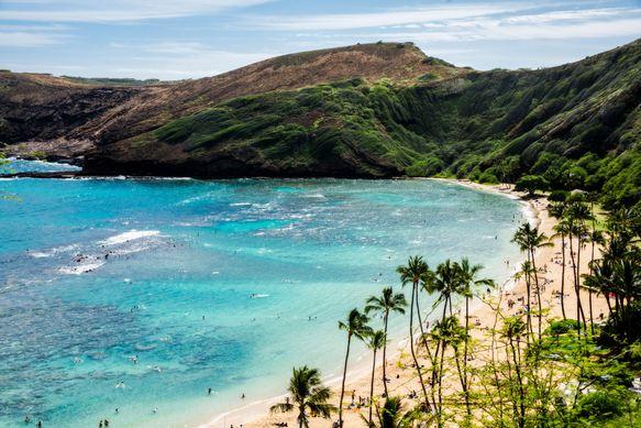 Hanauma Bay Beach Park, Oahu, Hawaii, Most Beautiful Beaches in America 2016
