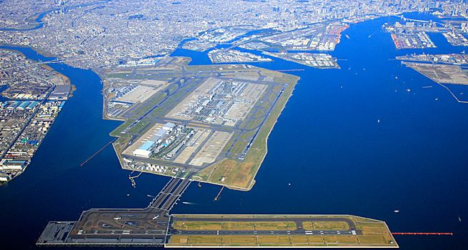 Haneda Airport in Tokyo, Most Expensive Airports 2017