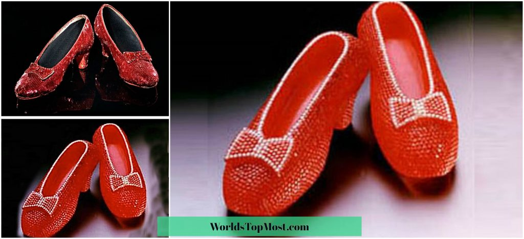 Harry Winston Ruby Slippers most expensive items 2016-2017
