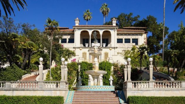 Hearst Castle, most expensive villas in the world 2017
