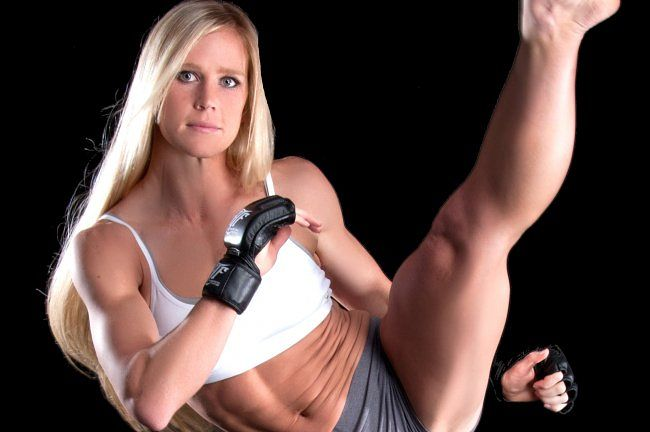 Holly Holm, World's Most Popular Hottest MMA Female Fighters 2018