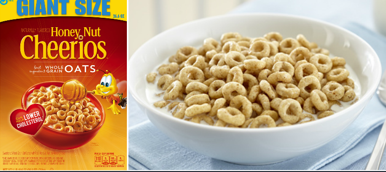 Honey Nut Cheerios Bestselling yummy Food Products 2016-2017