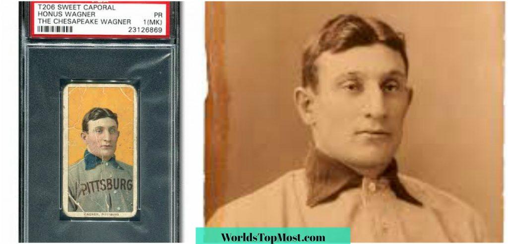 Honus Wagner expensive baseball cards 2016-2017