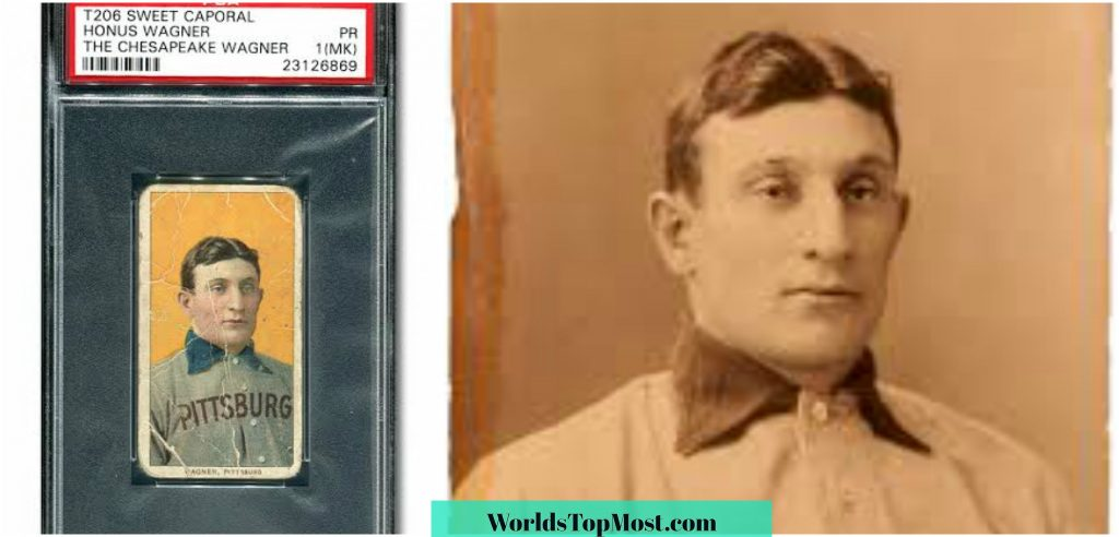 Honus Wagner expensive items in the world 2016-2017