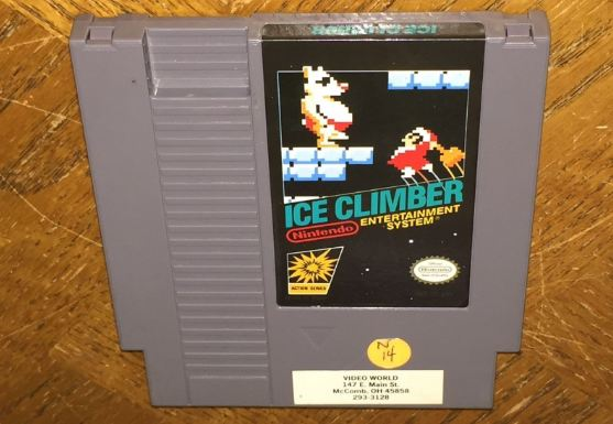 Ice Climber Best Selling Most Expensive Nintendo Games in The World 2017