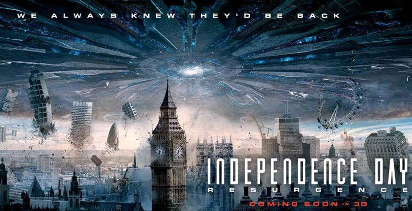Independence Day Resurgence most profitable movie