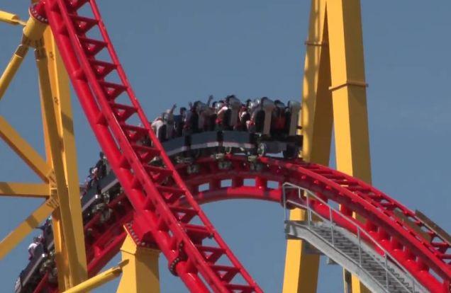 Intimidator 305- 300-Ft Drop Top 10 biggest roller coaster in the world 2017