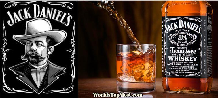 Jack Daniel top best Selling Whiskey Brands 2016