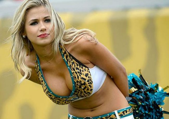 Jessica, Jacksonville Jaguars, Most Beautiful NFL Cheerleaders 2018