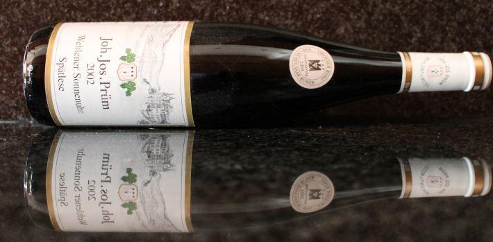 Joh. Jos. Prum Wehlener Sonnenuhr Riesling Trockenbeerenauslee, World's Most Expensive Wine Brands 2017