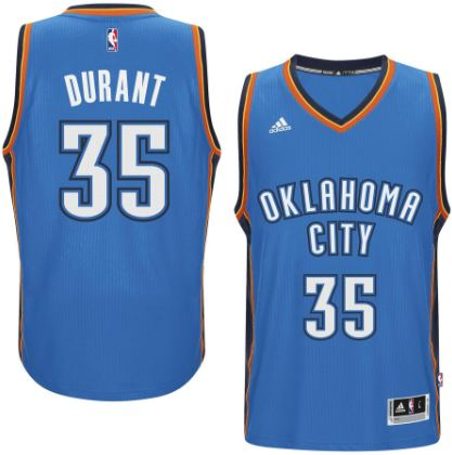Kevin Durant, SF, Oklahoma City Thunder Top 10 Best Selling NBA Jerseys in The World 2017