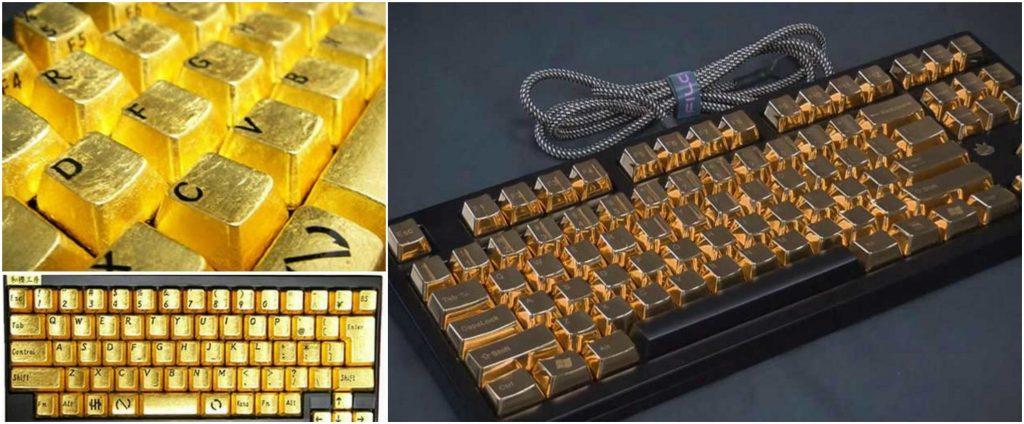 Kirameki Pure Gold Keyboard, World's Most Expensive Keyboards 2016