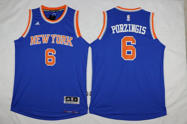 Kristaps Porzingis, PF, New York Knicks Top 10 Most Best Selling NBA Jerseys in The World 2017