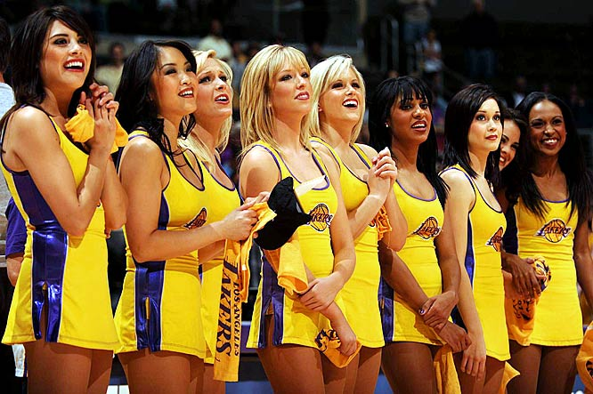 Laker Girls, Most Popular Hottest NBA Cheerleaders 2017