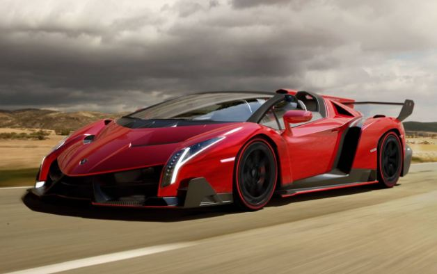 Lamborghini Veneno most expensive muscle cars in the world of 2018