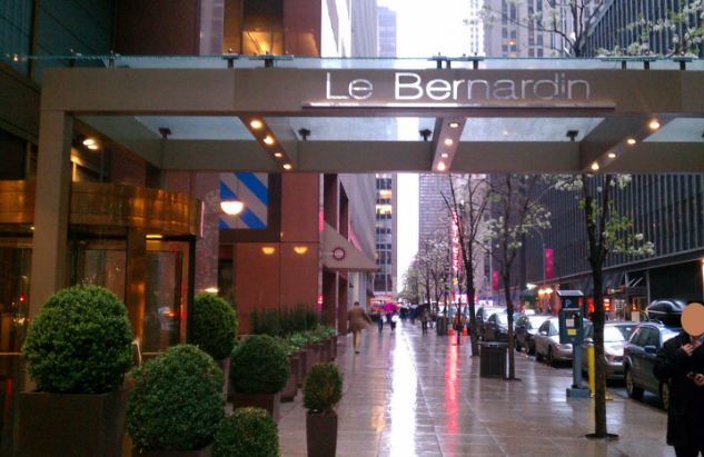 Le Bernardin most popular expensive restaurants in New York City of 2018