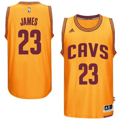 LeBron James, SF, Cleveland Cavaliers Most Popular Best Selling NBA Jerseys in The World 2018