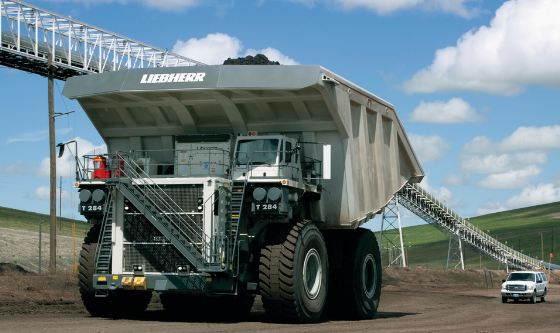 Liebherr T 284, largest dump trucks 2017