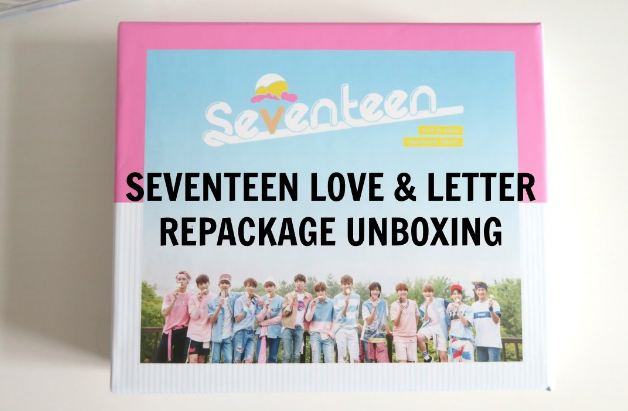 Love and Letter; Repackage Album- Seventeen, kpop albums