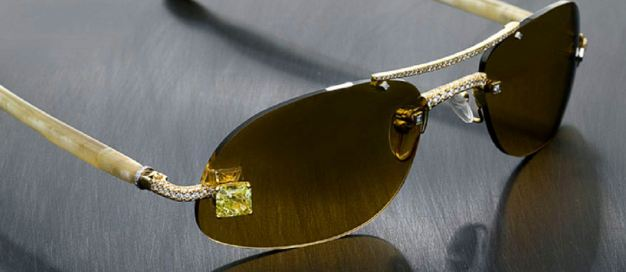 Luxuriator Style 23 Canary Diamond Eyewear