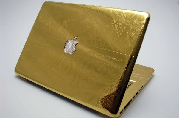 MacBook Pro 24 karat Gold, Most Expensive Laptops 2019