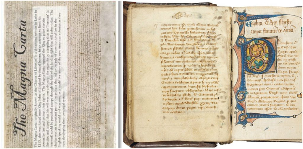 Magna Carta, World's Most Expensive Books 2017