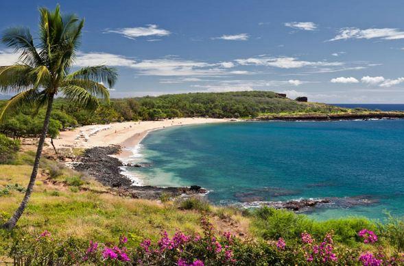 Manele Bay, Hawaii, Most Beautiful Beaches in America 2017