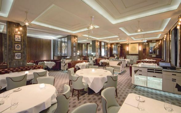 Marcus Wareing most popular expensive restaurants in the world 2018