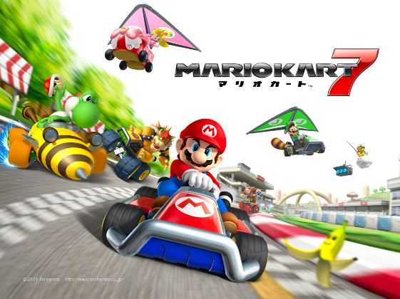 Mario Kart 7 Top Most Best Selling Nintendo Games in The World 2017