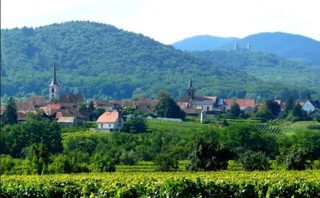 Mittelbergheim Most Beautiful Villages in France 2016-2017