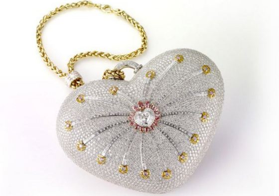 Mouawad 1001 Nights Diamond Purse Top Most Popular Expensive Handbags in The World 2019