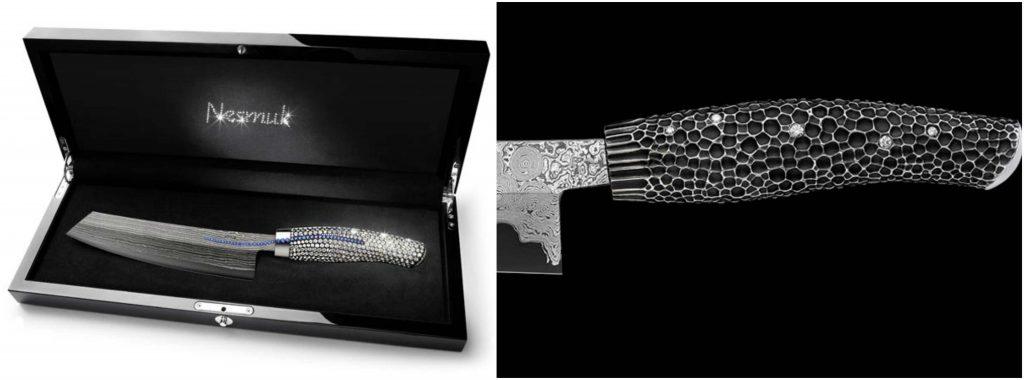 Nesmuk Diamond Studded Knife, World's Most Expensive Knives 2017